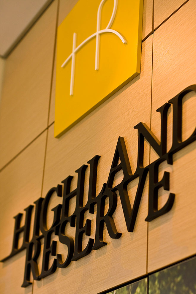 Stockland Highland Reserve Coomera Qld Signs Gold