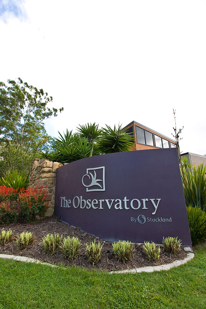 Stockland - The Observatory - Reedy Creek, QLD | Signs Gold