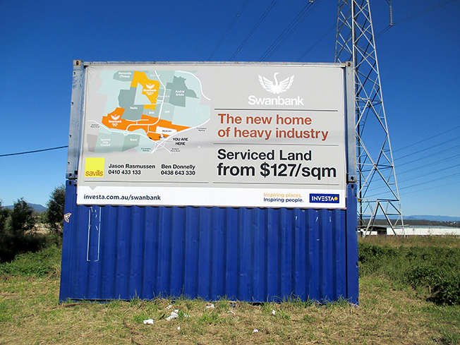 Container Signage Signs Gold Coast Bremner Visual