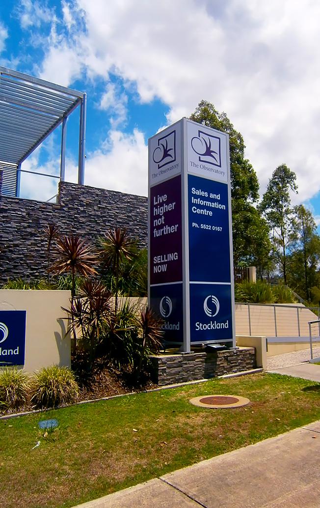 Pylon Pole Signs Signs Gold Coast Bremner Visual